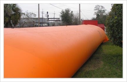 US Flood Control 42 inch FM Approved Tiger Dam Reusable Temporary Perimeter Barrier